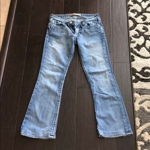 Big Star Casey K. Low Rise Fit Jeans 30R